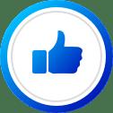 אייקון לייק פייסבוק